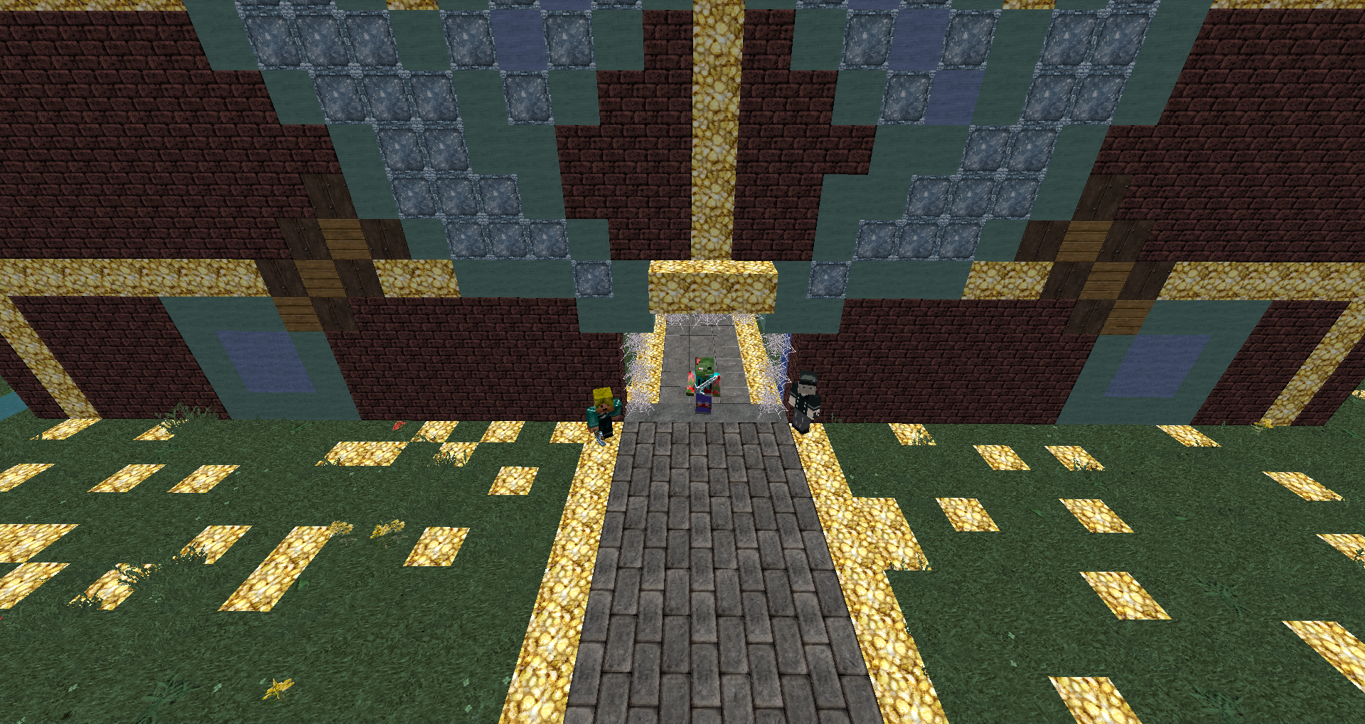 The front of our spawn